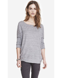 Express Space Dyed Oversized Tunic Sweater