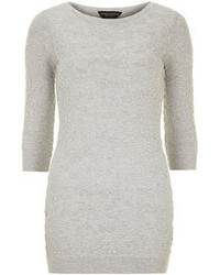 Dorothy Perkins Grey Animal Design Tunic
