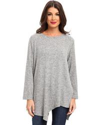 Nally Millie Angled Edge Brushed Sweater Tunic