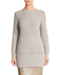 Max Mara Pesche Ribbed Knit Tunic