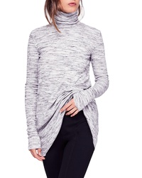 Free People Stone Cold Turtleneck Top