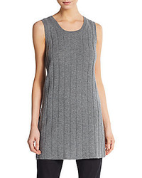 Haider Ackermann Wool Cashmere Ribbed Tunic