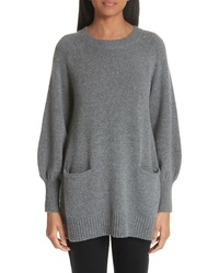 Co Wool Cashmere Tunic Sweater