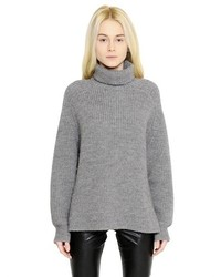 Etoile Isabel Marant Oversized Wool Blend Turtleneck Sweater