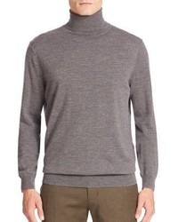 Vince Featherweight Cashmere Wool Turtleneck Sweater