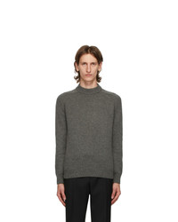 Saint Laurent Grey Camel Hair Sweater