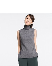 Uniqlo Merino Blend Ribbed Turtleneck Sweater