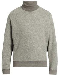 Wooyoungmi Roll Neck Wool Blend Felt Sweater