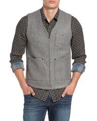 Jeremiah Cambria Heathered Zip Vest