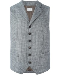 Brunello Cucinelli Houndstooth Waistcoat