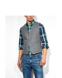Levi's Waistcoat Brillo Grey