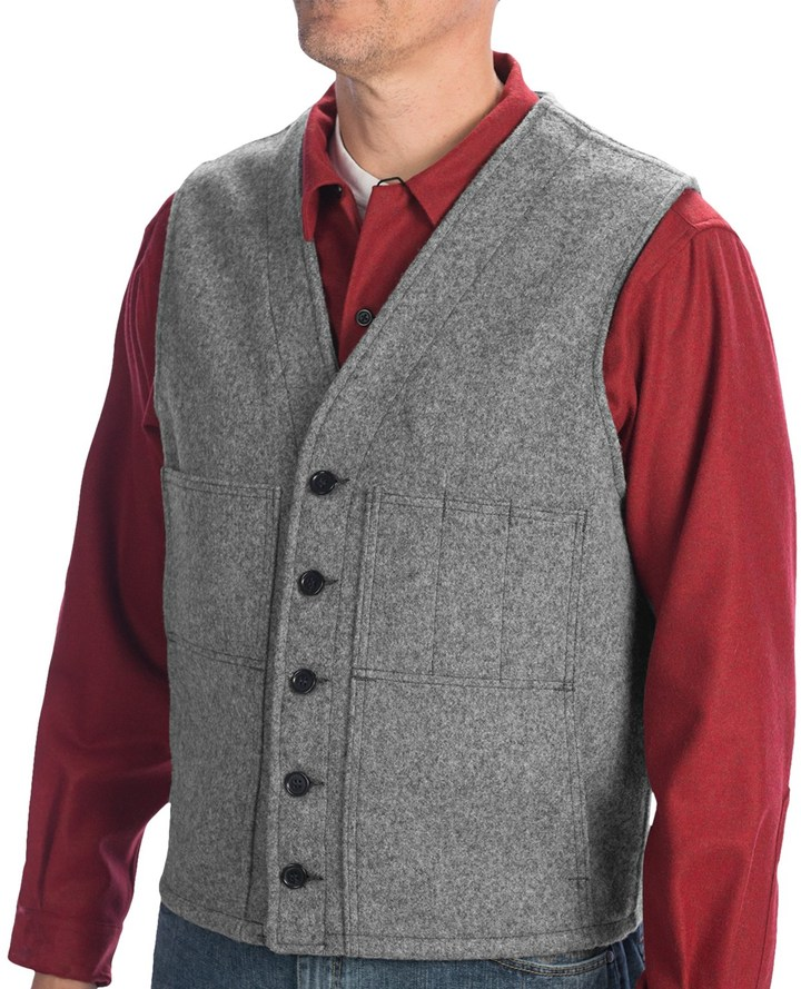 ... Filson Mackinaw Vest Virgin Wool