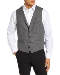 BOSS Novanweste Solid Wool Vest