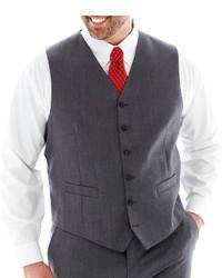 Stafford Stafford Executive Super 100 Wool Suit Vest Big Tall