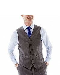 Stafford Stafford Executive Super 100 Wool Vest Classic