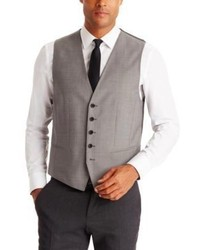 Hugo Boss Westin Regular Fit Italian Wool Vest 42s Grey