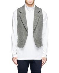 Nobrand Wool Felt Waistcoat