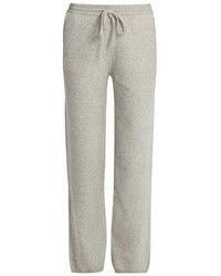 Joseph Mid Rise Wide Leg Wool Trousers
