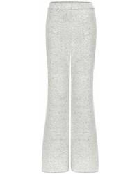 Stella McCartney Virgin Wool Blend Wide Leg Trousers