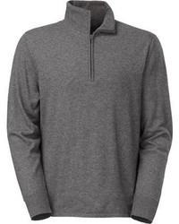 The North Face Mt Tam 14 Zip Sweater Charcoal Grey Heather Sweaters