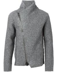 Emporio Armani Asymmetric Zip Fastening Cardigan
