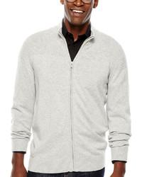 Claiborne Full Zip Sweater