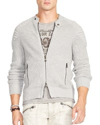 Polo Ralph Lauren Ottoman Stitched Full Zip Cardigan