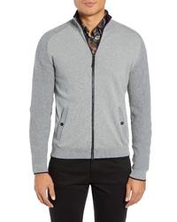 Ted Baker London Patrik Slim Fit Zip Sweater