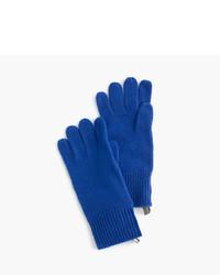 Guantes azules de J.Crew