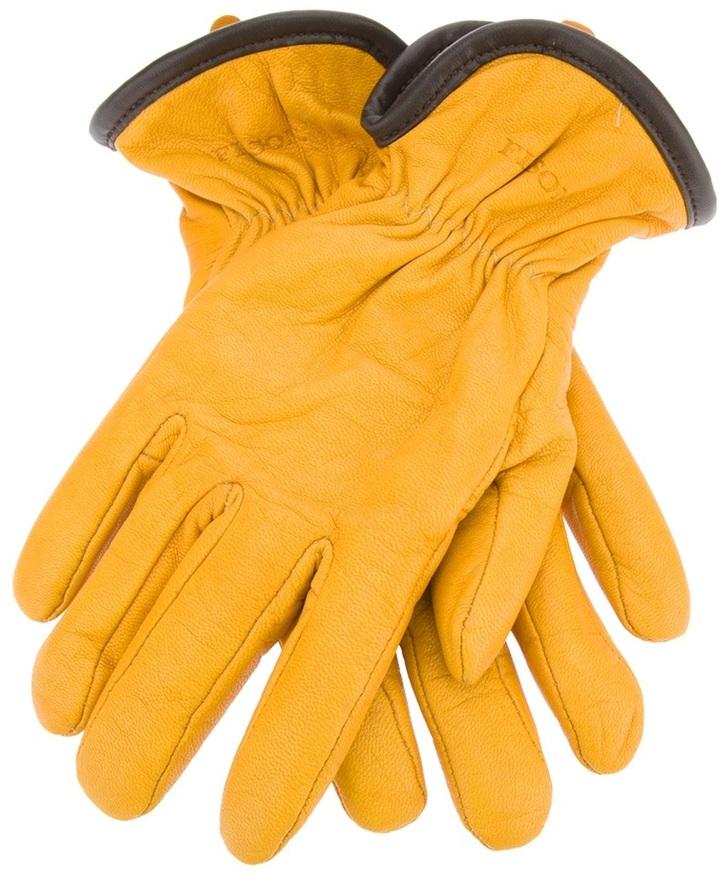 Guantes de cuero amarillos de Filson