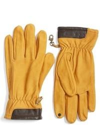 Guantes de cuero amarillos de Timberland
