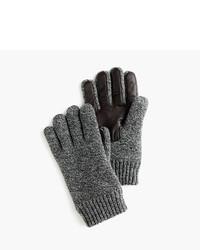 Guantes de lana en gris oscuro de J.Crew