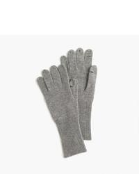 Guantes de lana grises de J.Crew