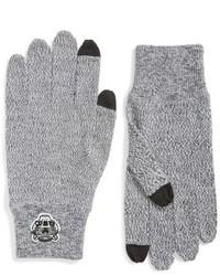 Guantes de lana grises de Kenzo