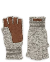 Guantes de lana grises de Polo Ralph Lauren