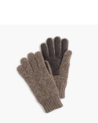 Guantes de lana marrónes de J.Crew