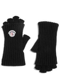 Guantes de lana negros