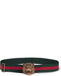 afb862462e1 Women s Horizontal Striped Belts by Gucci