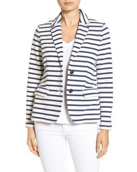 Horizontal striped blazer original 1370591