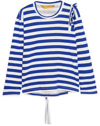Horizontal striped blouse original 11352038