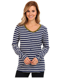 Horizontal striped henley shirt original 2611944