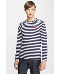 Horizontal striped long sleeve t shirt original 9728122