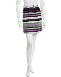 Horizontal striped mini skirt original 1464227