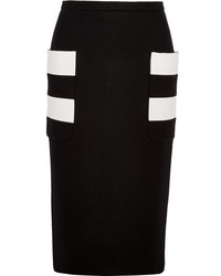 Horizontal striped pencil skirt original 1458719