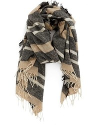 Horizontal Striped Scarf