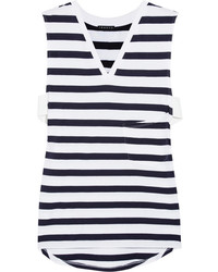 Horizontal striped sleeveless top original 4005385