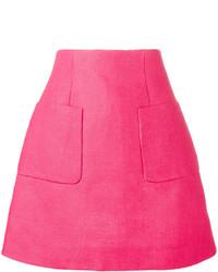 DELPOZO A Line Mini Skirt