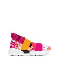 Emilio Pucci Colour Block Slip On Sneakers