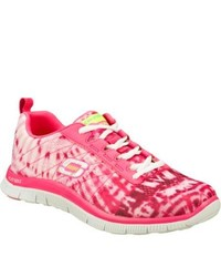 Skechers Flex Appeal Limited Edition Hot Pink Casual Shoes