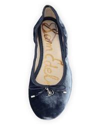 Sam Edelman Felicia Velvet Ballerina Flat